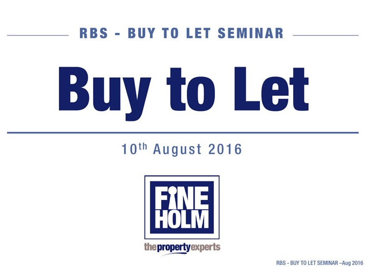 Buy to Let Seminar - Fineholm