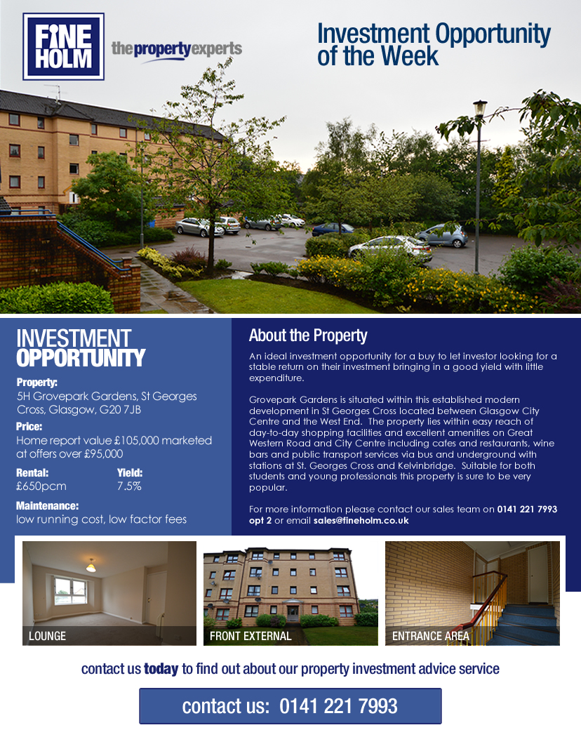 Property Investment Opportunity in Glasgow