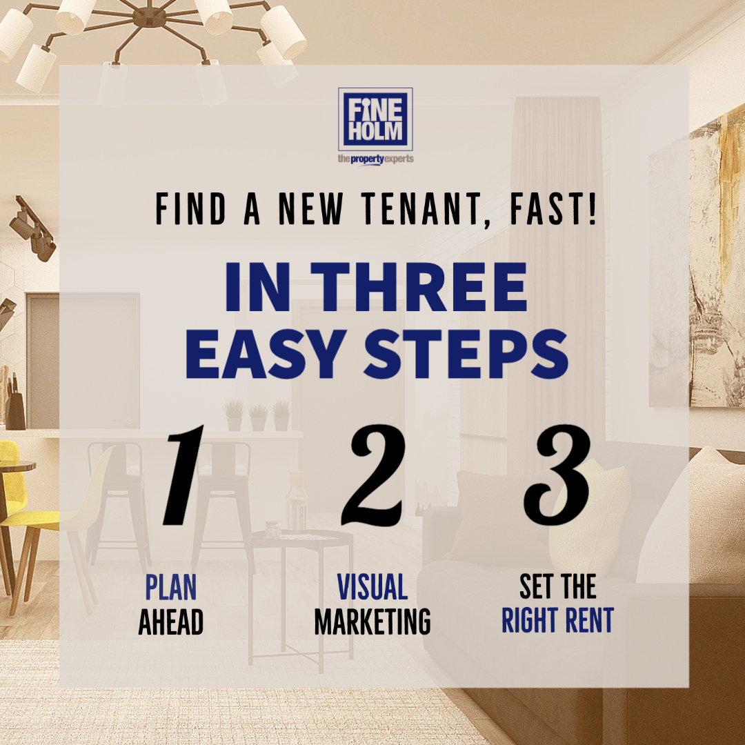 Find a new tenant fast