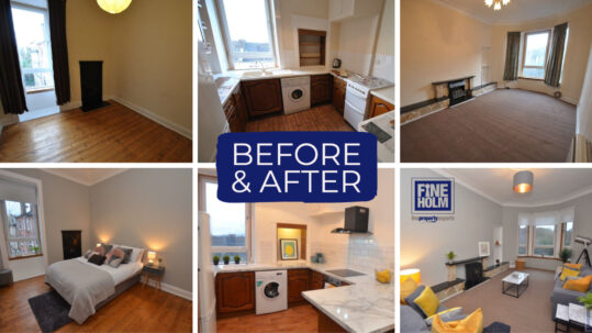 Before & After - Property Investment Glasgow