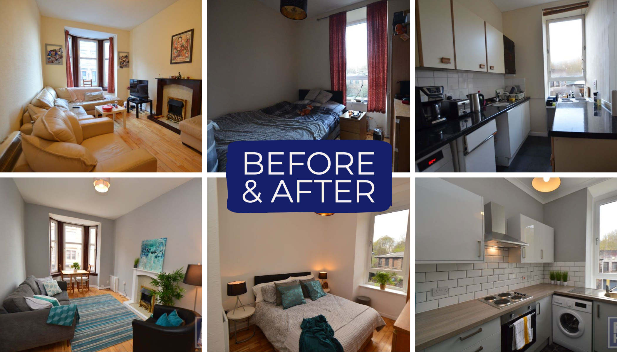Property Investment - before and after