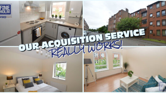 Buy to Let Property Acquisition Service